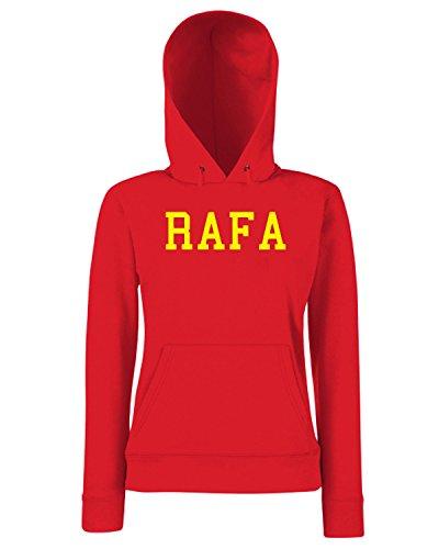 T-Shirtshock - Sweats a capuche Femme OLDENG00772 rafa Rouge