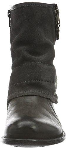 Tom Tailor 1694201, Bottines non doublées femme Gris - Grau (coal)