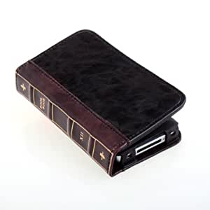 Daditong Bibel Buch-Art-Fall Built-In ID Credit Card Wallet für iPhone4/iPhone4S