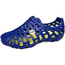 Dexinx Amantes Casual Zapatos de Playa con Agujeros Antideslizante Verano Sandalias Al Aire Libre