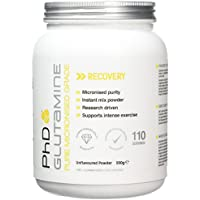 PhD Nutrition Micronised Pharmaceutical-grade L-Glutamine- 550g