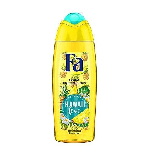 Fa Hawaii Love Duschgel, Ananas - Fragipani Duft, Island Vibes, 1er Pack (1 x 250 ml) -