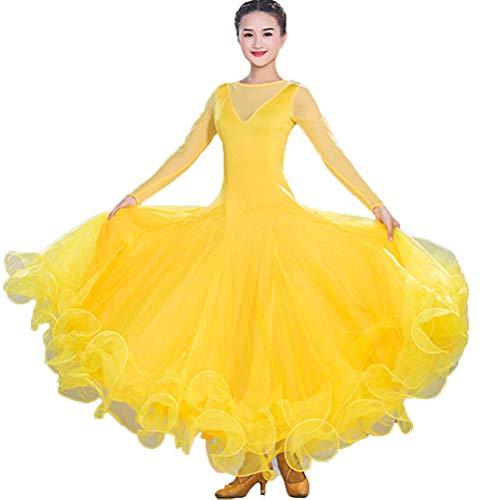 Costume da Prestazione Ballo da Sala Performance Costume delle Donne I  Moderni Valzer Tango Vestiti Smooth ... 08362738511
