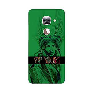 Skintice Designer Back Cover with direct 3D sublimation printing for LeTV Max 2