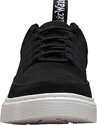 Dr. Martens Mens Reuban 5 Eye Sneakers Suede Black