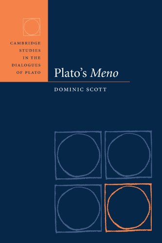 Plato's Meno (Cambridge Studies in the Dialogues of Plato)