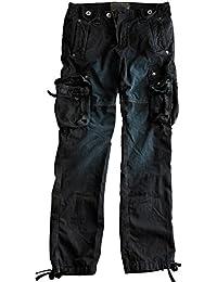 Alpha Industries Tough black Cargohose Beintaschen Baumwolle original strapazierfähige Hose aus Baumwolle mit sehr guter Passform