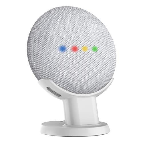 Gelink Schreibtisch Halter Desk Holder Mount für Google Home Mini (Weiß)