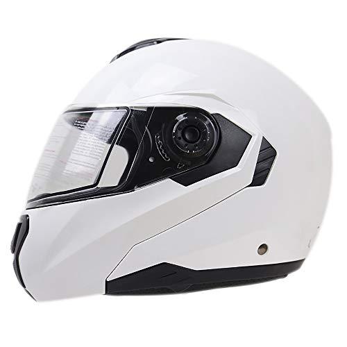 SDKUing Integral-Helm · Full-Face Motorrad-Helm ECE-ZertifizierungDesign Der Kopfbelüftung Motorrad Reithelm Sicherheitsschutz Double Visier Roller-Helm Scooter-Helm