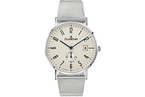 Dugena Men's Analogue Quartz Watch with Stainless Steel Strap 4460781