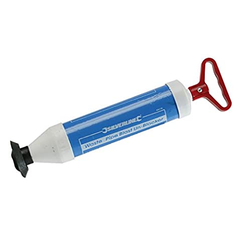 Silverline MS138 Wasserdruck-Rohrreiniger 370 mm