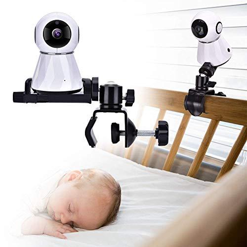Soporte para Monitor de cámara para bebé, Soporte Giratorio Ajustable de 360 Grados, Mantenga a su...