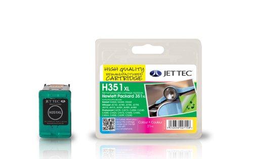 Preisvergleich Produktbild Jet Tec CB338EE HP HP351XL CB338 color In England hergestellte Wiederaufbereitete Tintenpatrone Couleur High capacity