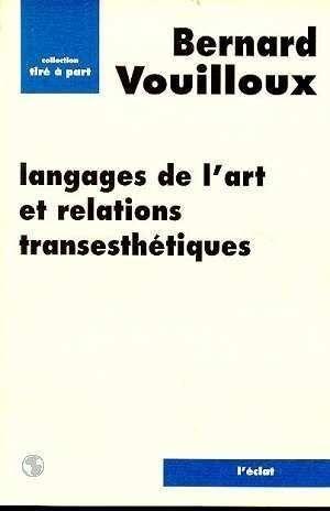 Langages de l'art et Relations transesthtiques
