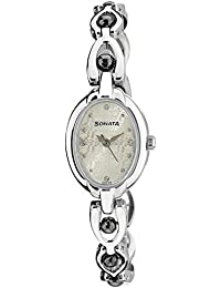 Sonata Analog multicolor Dial Women's Watch -NK8048SM04