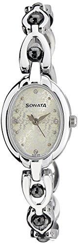 Sonata Analog multicolor Dial Women's Watch -NK8048SM04