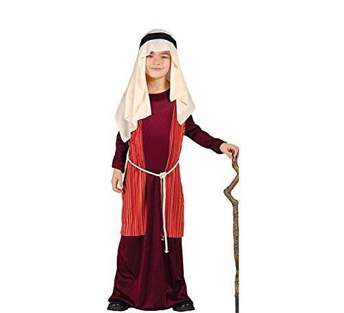 Hirte Kostüm rote arabische Juden Krippe Kind 5/6 Jahre