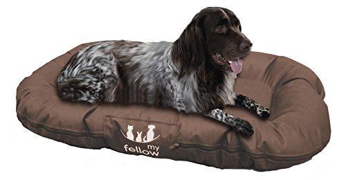Hundekissen wasserabweisend 70x100cm braun