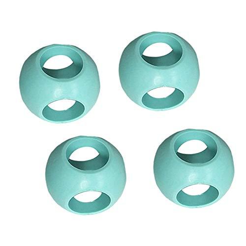 MAyouth Magnetische Wäscherei-Kugel, 4 Stück Antikalk-Ball/Anti-Kalk-Kugel für Waschmaschine Wäscherei/Reinigung