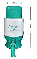 J GO Hand Press Manual Water Can Bottle Water Dispenser Suits For Most Mineral Water Bottles