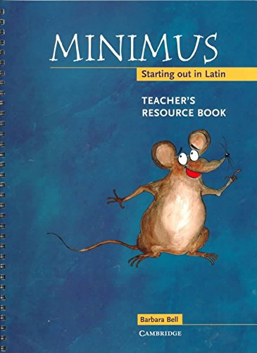 minimus-teachers-resource-book-starting-out-in-latin-by-barbara-bell-published-july-2000