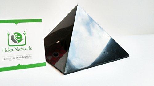 Libro PDF Gratis Shungite Pyramid 10 cm (4