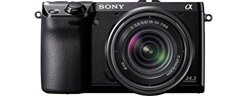 Sony NEX-7KB Systemkamera (24 Megapixel, 7,5 cm (3 Zoll) Display, Full HD Video) Kit inkl. 18-55 mm Objektiv - 2