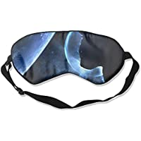 Sleep Eye Mask Moon Cat Lightweight Soft Blindfold Adjustable Head Strap Eyeshade Travel Eyepatch preisvergleich bei billige-tabletten.eu