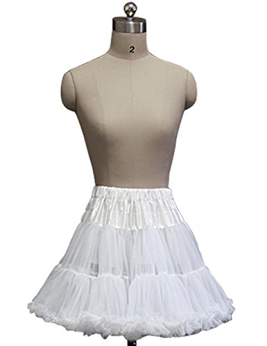 Sarahbridal Damen Ballon Petticoat Reifrock für Brautkleid Abendkleider Ballkleid Crinoline Unterrock S12004 Rot-019