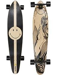 """Smiley Longboard """"Nouv"""" - board parfait pour le cruising et le downhill - 107cm"""