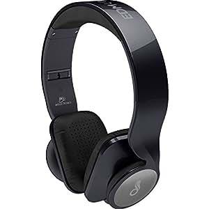 MEElectronics HP-D50P-BK-MEE EDM Universe On-Ear Headphones, Metallic Black