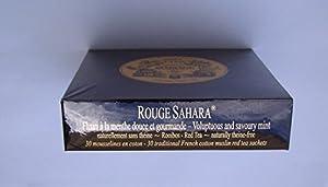 Mariage Frères - ROUGE SAHARA - Boîte de 30 sachets mousseline de thé