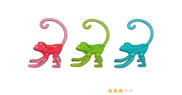 Multicolore Fackelmann 27095 Marque-Verres Tropical 50 pi/èces Plastique 20 x 10 x 5 cm