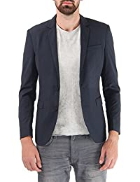 Jack & Jones Men's Notch Lapel Regular Fit Blazer