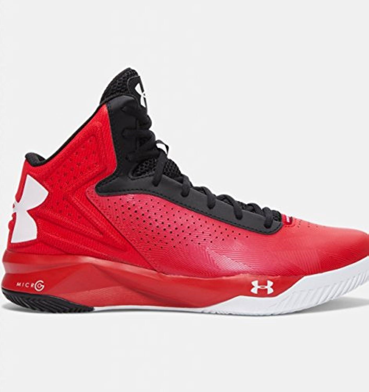 Para hombre UNDER ARMOUR Micro G Torch baloncesto zapatos rojo  -