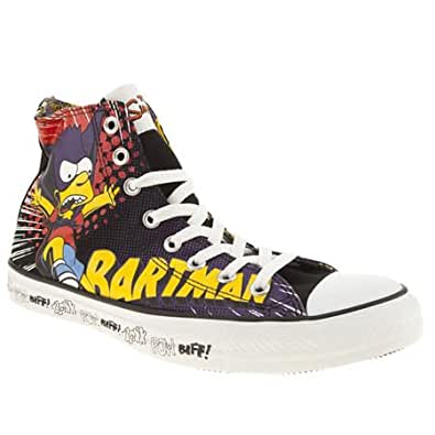 Converse all star hi simpsons bartman 7 uk multi for Converse all star amazon