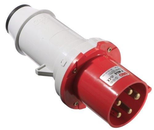 as - Schwabe 60423 CEE-Stecker 400V / 63A, IP44 Gewerbe, Baustelle