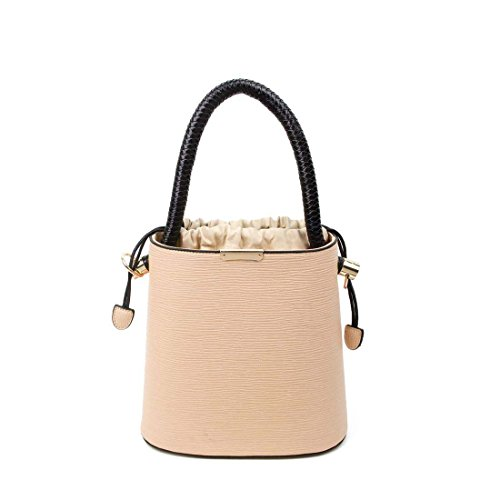 OBC Only-Beautiful-Couture, Borsa a mano donna beige Beige ca.: 27x26x14 cm (BxHxT) crema