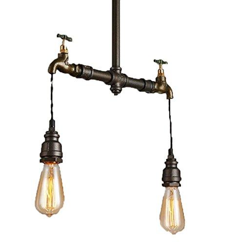 Industrielampe Kronleuchter Wasserleitungen Hahn Industrie Deckenleuchte  Usa Eisen Esszimmerlampe Innen Pendelleuchte Vintage Retro Lampe Leuchte  Licht ...