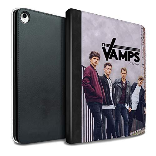 The Vamps PU Pelle Custodia/Cover/Caso Libro per iPad PRO 10.5 (2017) Tablet/Album Servizio Fotografico Disegno