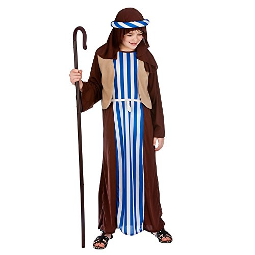 Kids Boys Joseph Nativity Christmas Medium (5-7 years) Fancy Dress Costume
