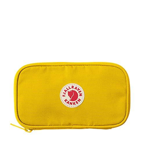 FJÄLLRÄVEN Kånken Travel Brieftasche Münzbörse, 19 cm, Warm Yellow - Gelbe Flache Geldbörse