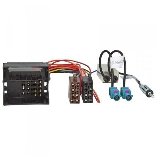 Acv 1524–77+ 1324–02Radio Cable de conexión y adaptador de antena Multicolor