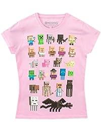 Minecraft - Maglietta a maniche corte - Minecraft - Ragazza