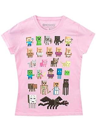 Minecraft - Camiseta para niñas - Minecraft - R...