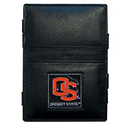 NCAA Oregon State Beavers Leather Jacob's Ladder Wallet