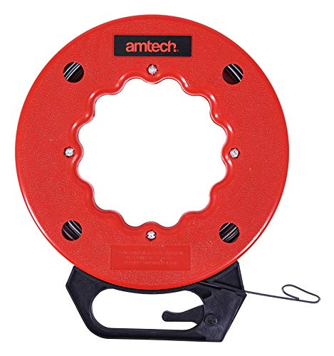 Am-Tech 50 ft Fish Tape, S4190 (Sicherheits-kamera-lock-box)