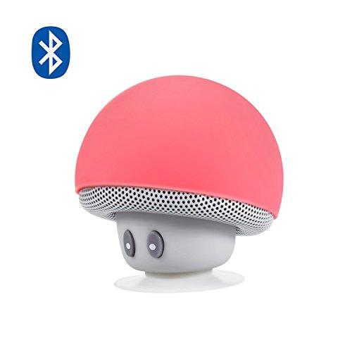 Bluetooth Lautsprecher, Alfort Kabelloser Tragbare Lautsprecher mini Karikatur Einfach zu tragen Handy-Support-Funktion Mikrofonfunktion Anrufbeantworterfunktion Verfügbar 3 Stunden Verfügbar für Samsung A5 / A3 iPhone 6/7/8 / X alle Smartphones ( Rot )
