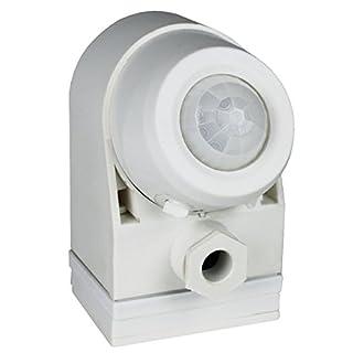 as - Schwabe 43811 Infrarot-Bewegungsmelder 360°, weiß