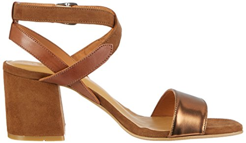 Gant Footwear 14563716, Sandali Donna Marrone (Copper+Cognac)